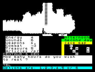 The Oracle's Cave ZX Spectrum 09