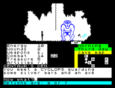 The Oracle's Cave ZX Spectrum 10