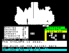 The Oracle's Cave ZX Spectrum 11