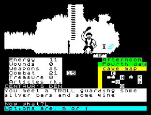 The Oracle's Cave ZX Spectrum 12