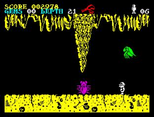 Underwurlde ZX Spectrum 12