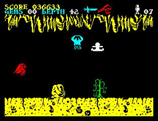 Underwurlde ZX Spectrum 31