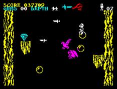 Underwurlde ZX Spectrum 33