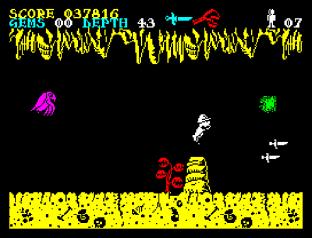 Underwurlde ZX Spectrum 34