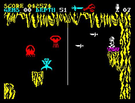 Underwurlde ZX Spectrum 37