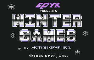 Winter Games C64 01