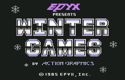 Winter Games C64 01