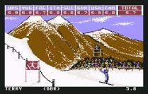 Winter Games C64 08