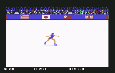 Winter Games C64 10