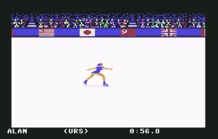 Winter Games C64 10