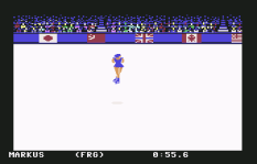 Winter Games C64 11