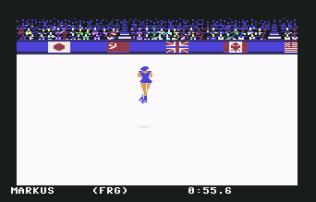 Winter Games C64 11