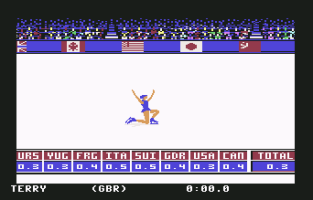 Winter Games C64 12
