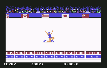 Winter Games C64 12