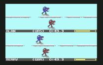 Winter Games C64 16