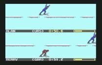 Winter Games C64 17