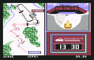 Winter Games C64 20