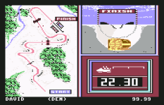 Winter Games C64 22