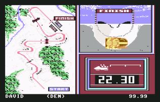 Winter Games C64 22