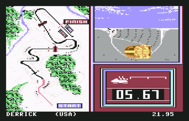 Winter Games C64 23