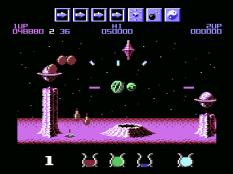 Wizball C64 10