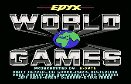 World Games C64 01