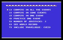 World Games C64 02