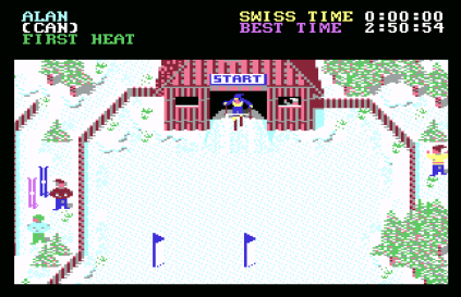 World Games C64 12