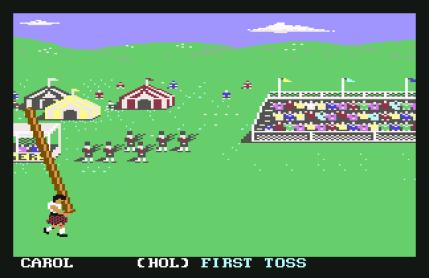 World Games C64 20