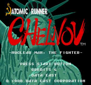 Atomic Runner Chelnov Arcade 01
