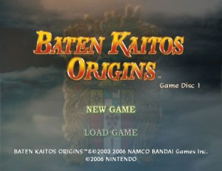 Baten Kaitos Origins GC 01