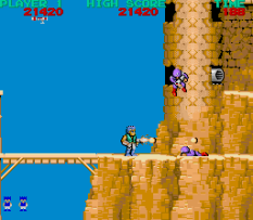 Bionic Commando Acrade 11