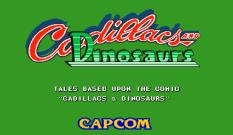 Cadillacs and Dinosaurs Arcade 01