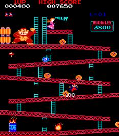 Donkey Kong Arcade 07