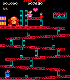 Donkey Kong Arcade 09