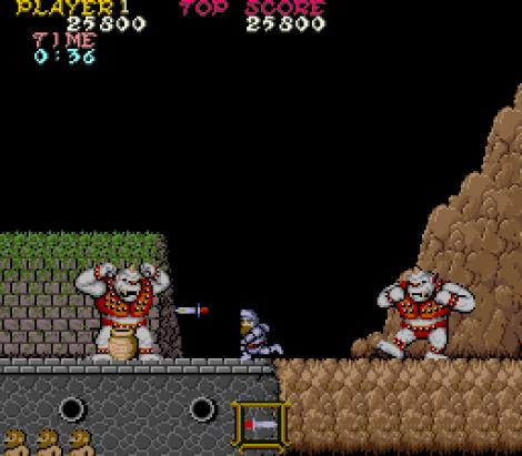 Ghosts N Goblins Arcade 34