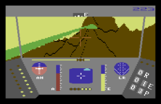 Rescue On Fractalus C64 10