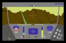 Rescue On Fractalus C64 11
