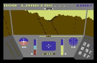 Rescue On Fractalus C64 12