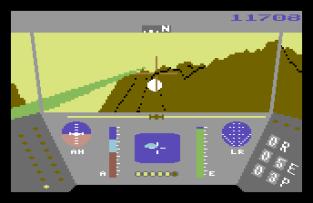 Rescue On Fractalus C64 20