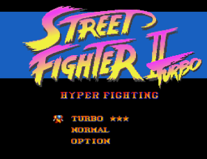 Street Fighter 2 Turbo Hyper Fighting SNES 01