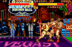 Street Fighter 2 Turbo Hyper Fighting SNES 11