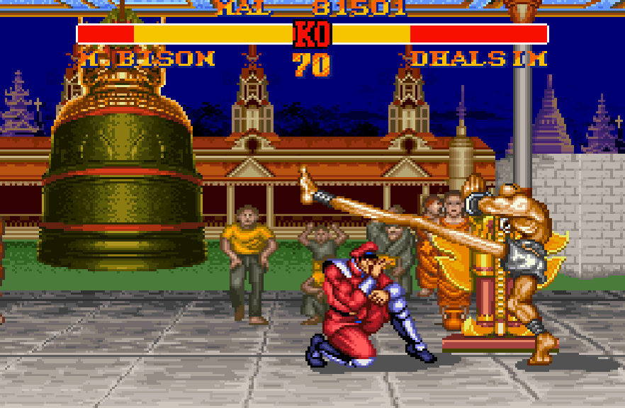 Street Fighter Ii The King Of Grabs