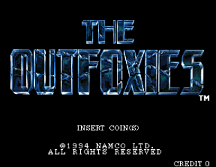 The Outfoxies (1994) Arcade 01