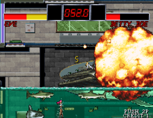 The Outfoxies (1994) Arcade 31