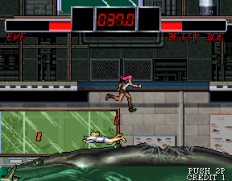 The Outfoxies (1994) Arcade 32