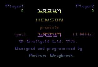 Uridium Plus C64 01