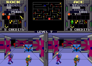 Xybots (1987) Arcade 21