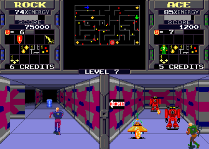 Xybots (1987) Arcade 23