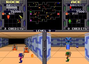 Xybots (1987) Arcade 31